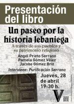 """Presentación libro """"Un paseo por la historia lebaniega"""""""