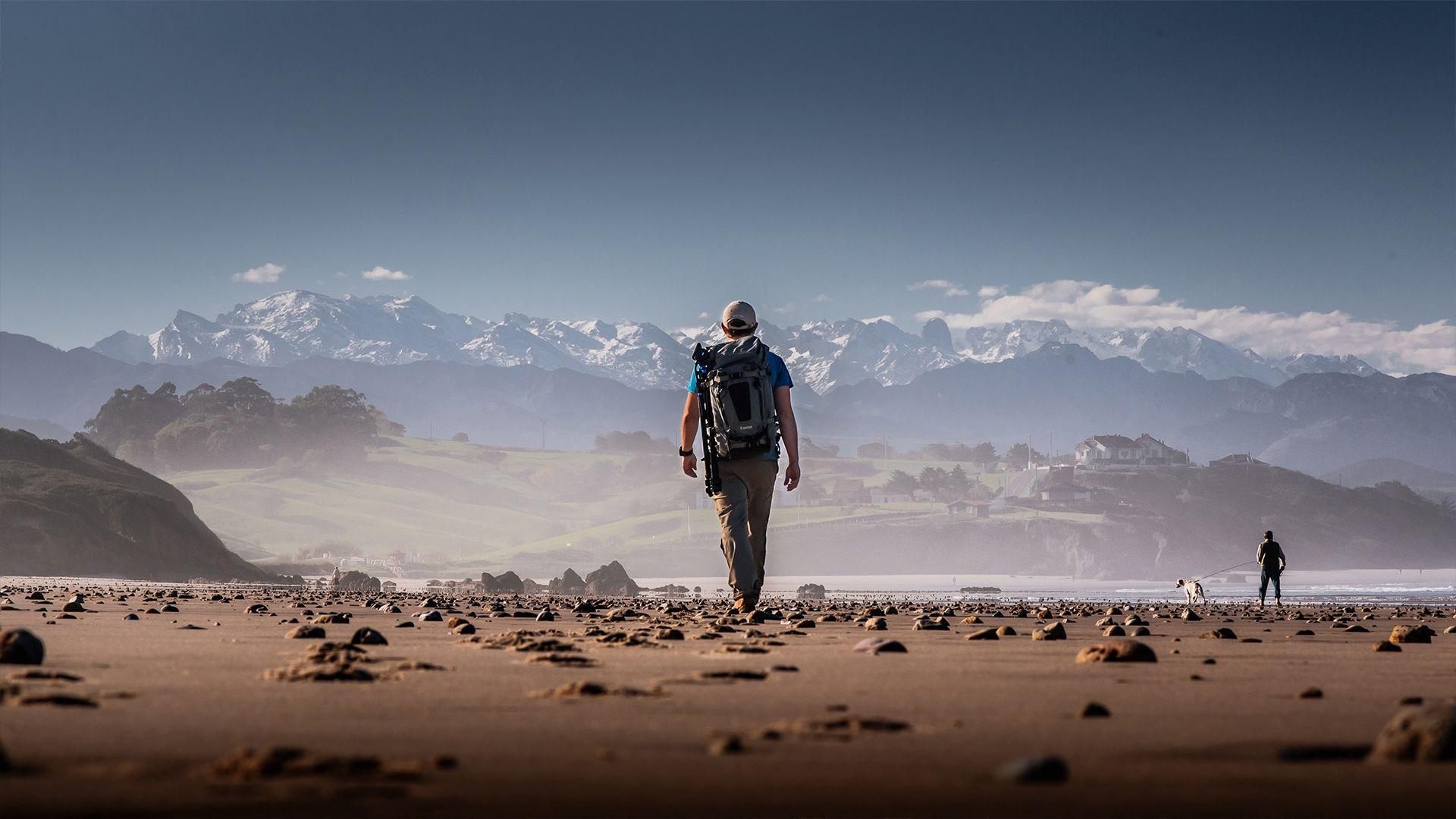 Peregrino del Camino Lebaniego
