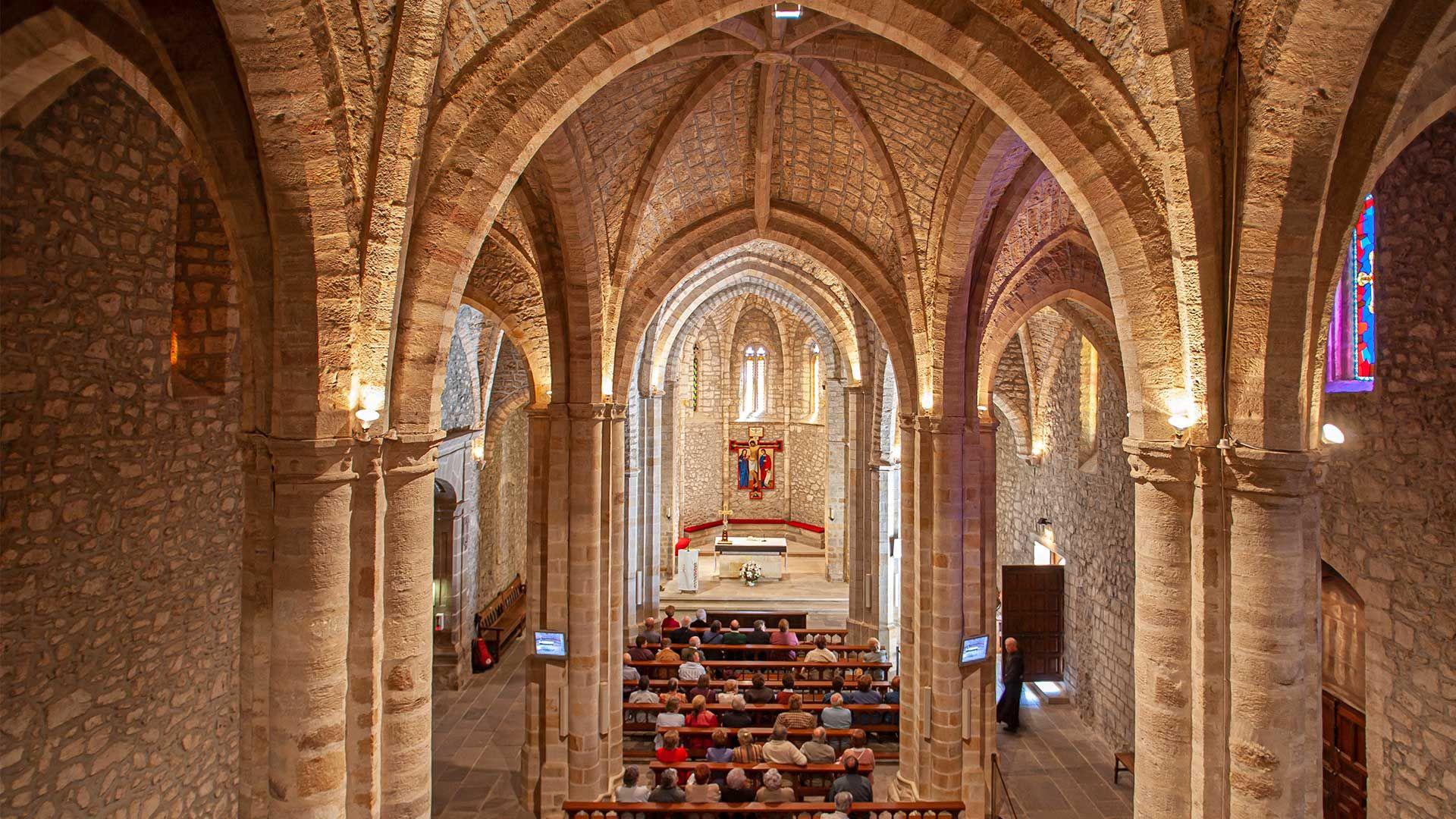 Interior del Monasterio de Santo Toribio