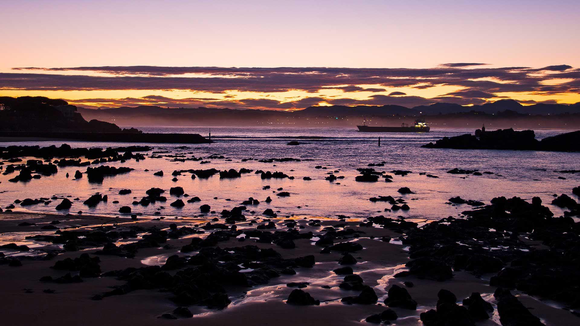 Atardecer Puerto de Santander