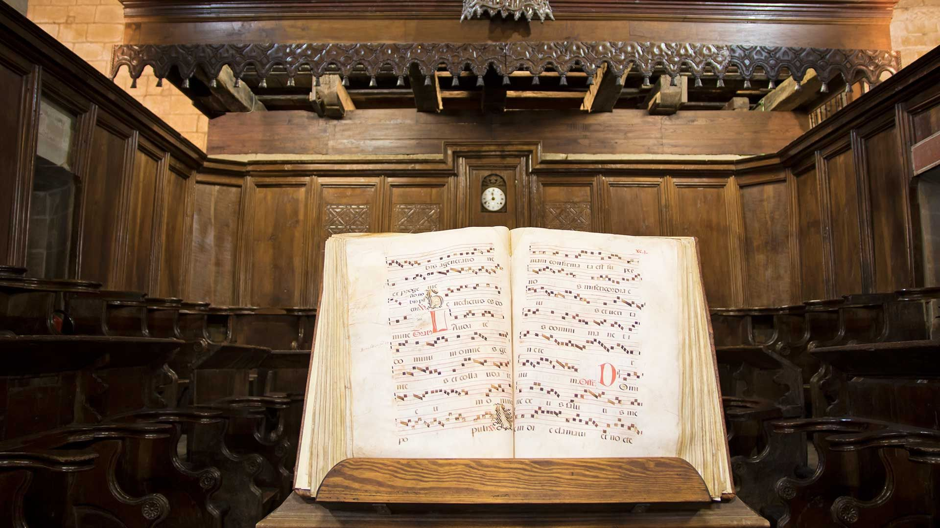 Libro del Coro Colegiata Santa Juliana
