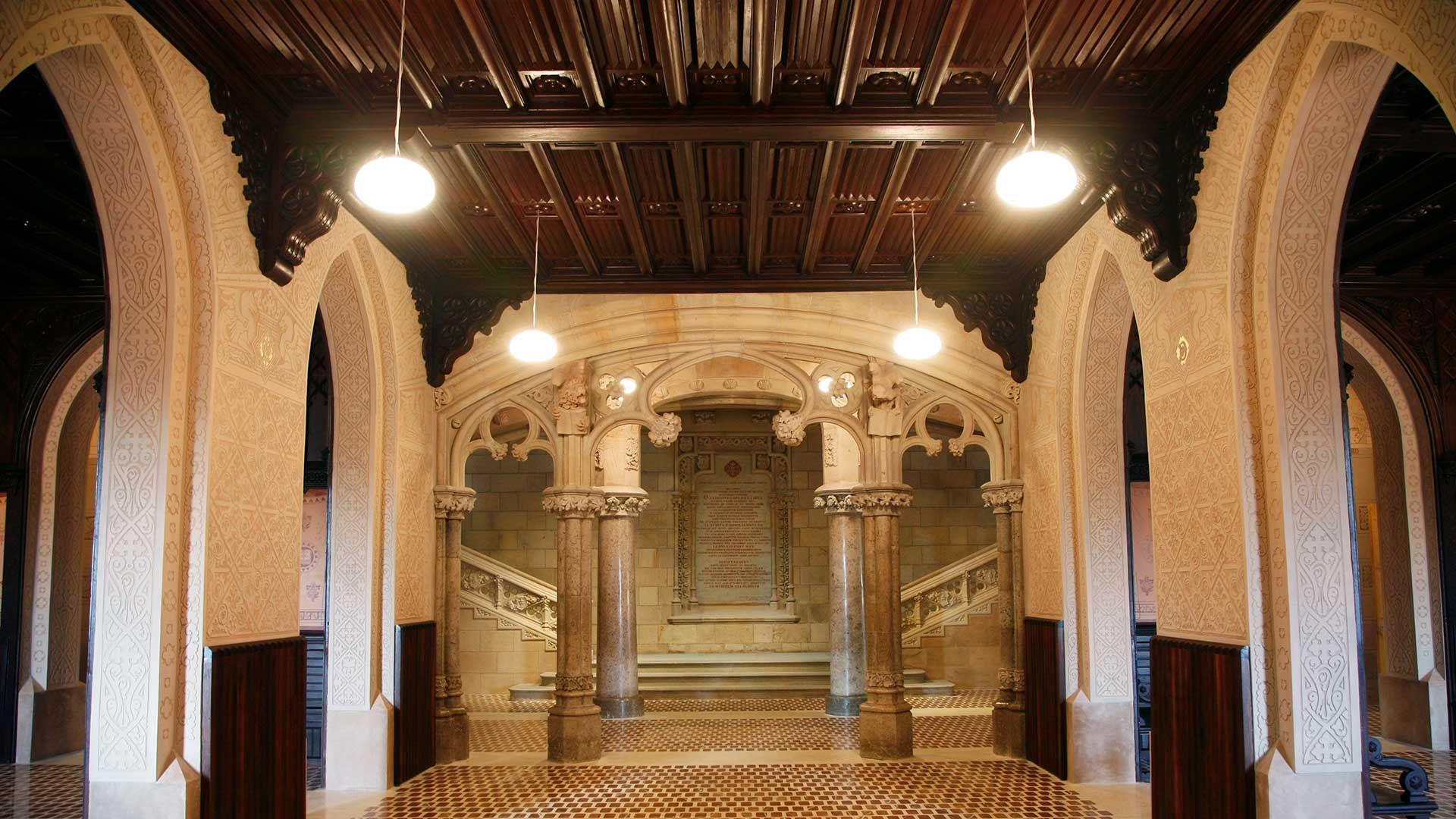 Interior Seminario de Comillas