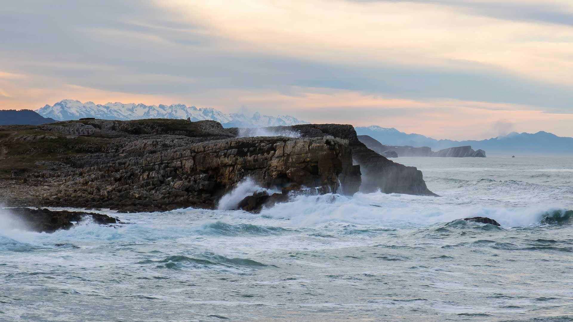 Oleaje costa de Cantabria