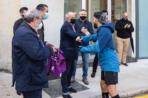 Roberto Rebollo fin del reto solidario