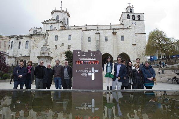 Reloj catedral Santander