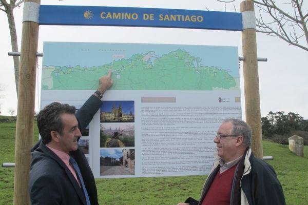 Señalización Camino de Santiago