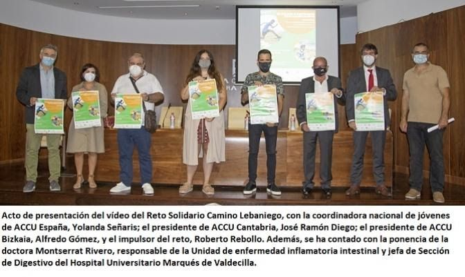 Acto de presentación Reto Solidario Chron